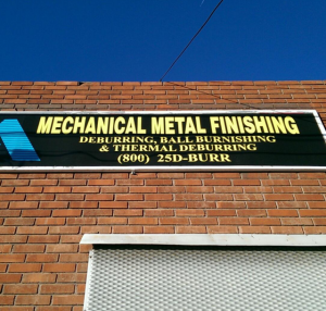Large Format Metal-finishing