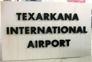 TIA 3D sign