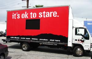 Promotion Truck Wrap