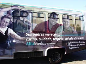 Bus Wrap Fleet Wrap