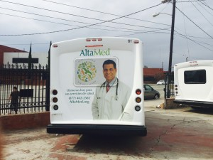 AltaMed Vehicle Wrap Back