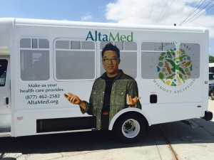 AltaMed Vehicle Wrap Side