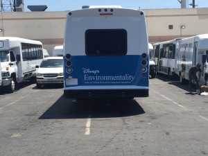 Disney's Environmentality Vehicle Wrap Back