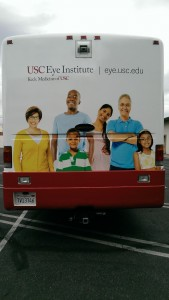 USC Vehicle Eye Institute Wrap Back