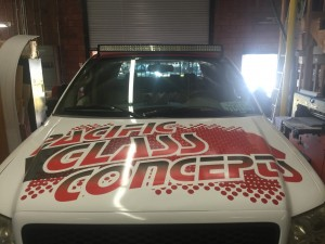 Pacific Glass Concepts Truck Vehicle Wrap Front