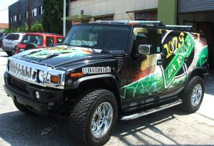 Radio Station SUV Wrap