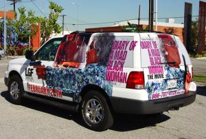 Chevy SUV Full Wrap