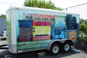 Trailer Vehicle Wrap
