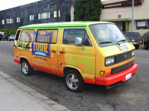 VW Van Vehicle Wrap
