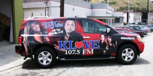 KLOVE Radio SUV Vehicle Wrap