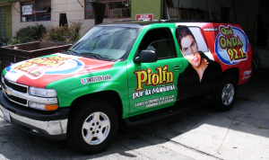 Piolin Radio SUV Vehicle Wrap