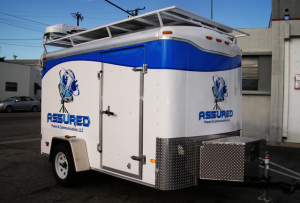 Assured Communications Trailer Vehicle Wrap