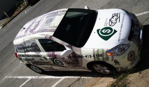 Money Wrap Vehicle Wrap