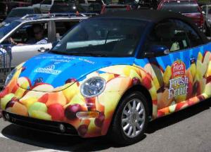 VW Beatle Wrap