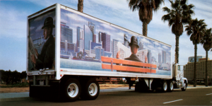 Large Format Truck Vehicle Wrap