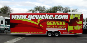 Geweke Trailer Vehicle Wrap