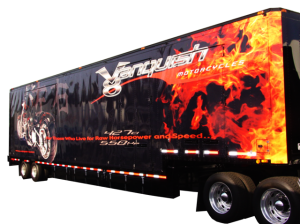 Vanquish trailer Vehicle Wrap